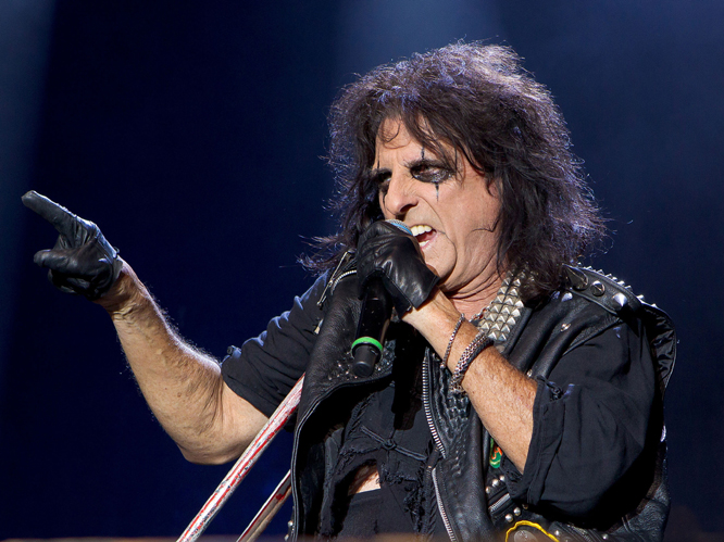 Alice Cooper - As well as being a keen advocate of school summer holidays, Cooper is also a Republican party supporter. During the 2004 presidential elections, he told the Canadian Press: 